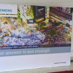 Banners produced for Siemens and installed at Eko Hotel for Siemens function June, 2018 2