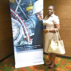 Banners produced for Siemens and installed at Eko Hotel for Siemens function June, 2018